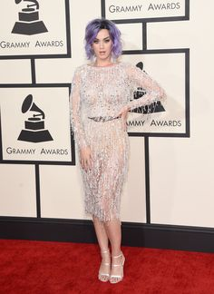 Katy Perry attends The 57th Annual GRAMMY Awards