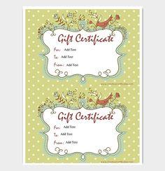 Printable Gift Certificate Format  #giftcertificate #freegiftcertificatetemplates #printablegiftcertificate #blankgiftcertificates #editablegiftcertificatetemplate