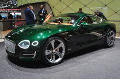 Bentley concept EXP 10 Speed 6 : l'une des grandes surprises : Salon de Genève 2015 : les voitures de luxe et de sport à l'honneur - Linternaute