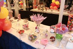 CandyLand Baby Shower with Grown up Twist