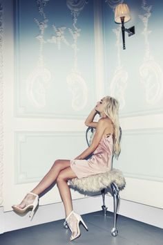 SS15: REFRESH YO' SELF #Missguided #Fashion #Photoshoot #ModelCrush #Satin #Cami #Blush