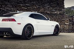 2014 Camaro On 20-Inch LAB Forged Wheels - Wish they hadn't changed the front :(