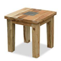 Slate Lamp Table