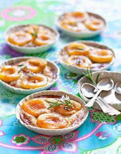 Petits gratins express à l'abricot rouge du Roussillon AOP - Régal