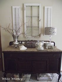 White Whimsy: Living Room Before and After