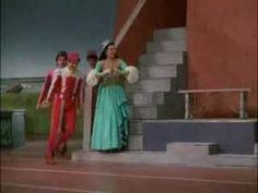 """The admirers in """"Oh Fabulous One"""" remind me of """"Tom Dick or Harry"""" from Kiss Me Kate"""