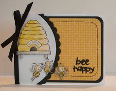 Bee Happy by mommy2darlings - Cards and Paper Crafts at Splitcoaststampers