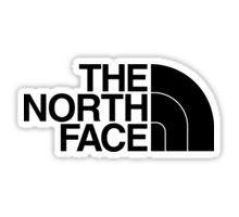 the north face Sticker