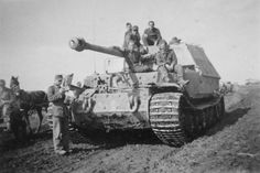 Heavy Tank Destroyer Ferdinand Facts & Images