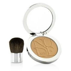 Diorskin Nude Air Healthy Glow Invisible Powder (With Kabuki Brush) - # 030 Medium Beige - 10g-0.35oz