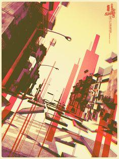 Urban Cartography II: The Metro by Alex Varanese