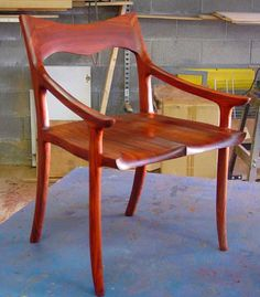 Sam Maloof Rocking Chair Should you plan to learn about woodworking techniques, try out http://www.woodesigner.net