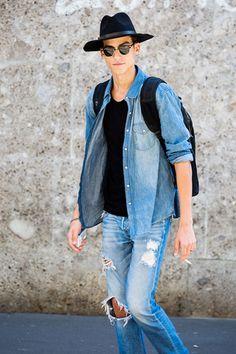 Street looks à la Fashion Week homme printemps-été 2016 de Milan   Vogue