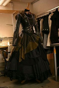 Steampunk Starshooter dress
