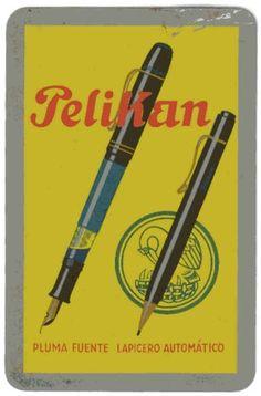 Pelikan Vintage Advertising