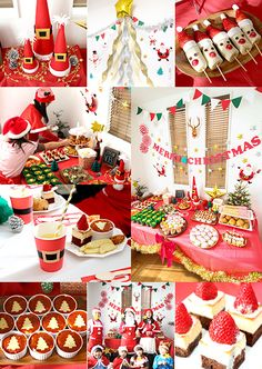 クリスマスパーティー演出&アクティビティ2015 子供の誕生日会・キッズパーティーの飾り付けアイデア