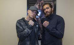 Eminem - Eminem und Jake Gyllenhaal besuchen Southpaw-Vorpremiere in Detroit