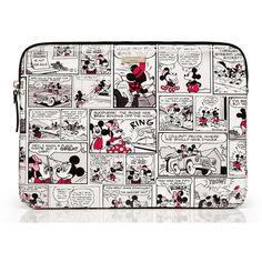 Kate Spade Kate Spade New York For Minnie Comic Laptop Sleeve (£51) ❤ liked on Polyvore featuring accessories, tech accessories, kate spade laptop case, comic book, laptop sleeve cases, laptop case and ipad laptop case