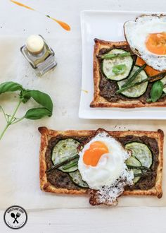 Imperfect Zucchini, Asparagus and Eggplant Dip Tarts - http://wholesome-cook.com/2014/09/18/imperfect-zucchini-asparagus-and-eggplant-dip-tarts/