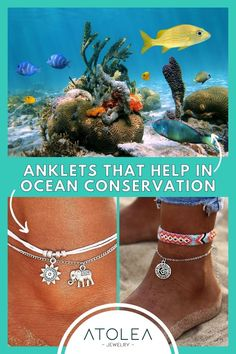 Every purchase of our ocean jewelries help in ocean conservation! Be a part of this mission. Learn more about our advocacy at atoleajewelry.com