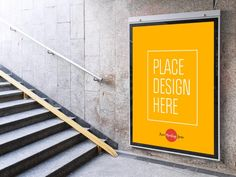 Underground Station Advertising Billboard Mockup | MockupWorld
