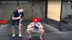Day 28: Improve your THRUSTER! - The Movement Fix