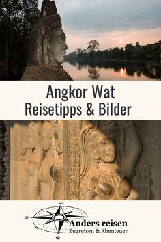 Faszinierende Angkor Wat Bilder und Reisetipps für die berühmte Tempelstadt in Kambodscha findest Du in diesem Beitrag. #angkorwat #reise #reisetipps Phnom Penh, Angkor Wat, Mount Rushmore, Asia, Nature, Highlights, Lovers, Cambodia, Winter Vacations