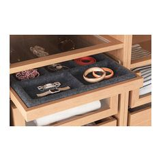 KOMPLEMENT Pull-out tray with insert - 50x58 cm - IKEA