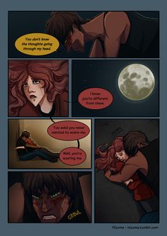 """Wolf & Scarlet (2) this part in the book killed me! all I could think was """"NO FREAKING WAY wolf goes bad. no."""""""