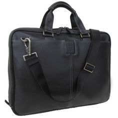 Who says your laptop brief has to be stiff? Tyler Tumbled Zipster in Black // BOCONI Bags & Leather #carryboconi #ziptop