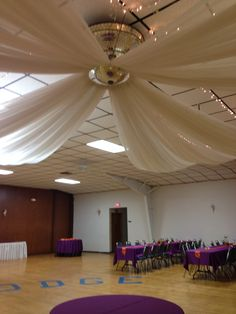 "The ""Windmill"" Canopy by Walnut Street Weddings."