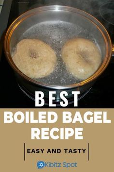 The secret to a great bagel is boiling. It may sound difficult, but with this recipe, it's not only easy, making homemade bagels is fun. Bagel In A Hole, How To Make Bagels, Bagel Breakfast Sandwich, Best Bagels, Whats Gaby Cooking, Vegan Fish, Homemade Bagels, Great Recipes