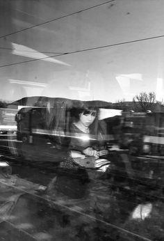 Boring train ride