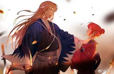 Sougo Okita x Kagura [OkiKagu], Gintama Anime Love, Clan Uzumaki, Gintama, Okikagu, Anime Kunst, Couple Art, Cute Anime Couples, Aesthetic Anime, Manga Anime