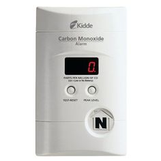 Kidde KN-COPP-3 Nighthawk Plug-In Carbon Monoxide Alarm with Battery Backup and Digital Display #homeimprovement #kidde See detail at http://zingxoom.com/d/cwHHJ743