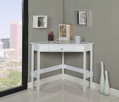 Kings Brand White Finish Wood Corner Desk With Drawer Kings Brand Furniture,http://www.amazon.com/dp/B00CEKKK2C/ref=cm_sw_r_pi_dp_WJvFtb0ZV2QBT2AN