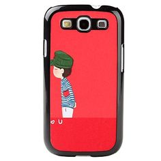 Protect your phone and make it look hip all the time with the Cute Cartoon Style BOY Pattern Hard Case for Samsung Galaxy S3 III I9300!