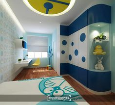 Doraemon bedroom