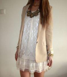 dress & blazer - perfect