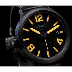 U-BOAT Watch (yellow)
