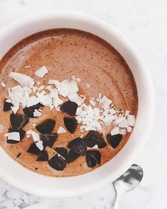 chocolate smoothie b