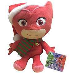 ebf3fa76ecc01 Amazon.com  PJ Masks - Owlette Christmas Plush 6 In  Toys   Games