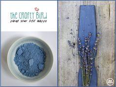 Mléčná barva BLESSINGTON LAKES tmavě modrýodstín od The Crafty Bird Milk Paint.