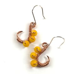 Mehindi Inspired Peacock – Turmeric Yellow $12.00 eleven77jewelry.com