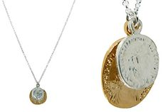Jamie Jewelry Gold & Silver Coin Necklace