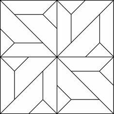 Geometric Block Pattern 98