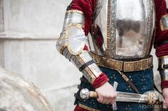 """Medieval Western Plate Arms Armor """"The King's Guard"""" :: by medieval store ArmStreet"""