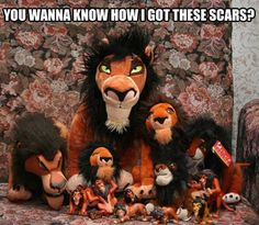 Don't listen to him... he's lion. #thelionking