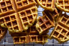 breakfast friday >> cornbreadwaffles - Edible Perspective -