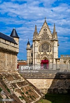 The Royal Chapel in the Vincennes Castle, Paris, France... #vincennes: The Royal Chapel in the Vincennes Castle, Paris, France… #vincennes